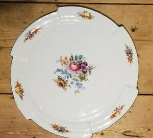 Woodword & Lothrop antique platter. Beautiful designs. German. $7200.00