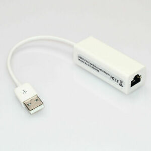 Micro USB to Network LAN Ethernet RJ45 Adapter 3 Port USB 2.0 HUB Network Card
