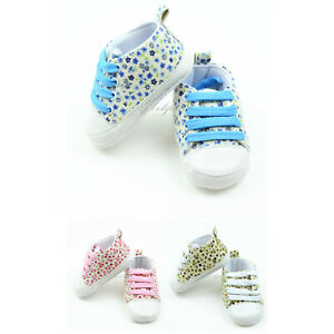Baby Shoes Soft Bottom Sneaker Antislip for newborn to 12 months baby Girl $5.99
