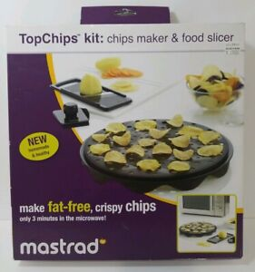 Chips Maker & Food Slicer Mastrad TopChips Kit homemade and healthy chips New