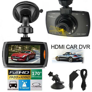 2.7'' HD 1080P Car DVR Vehicle Video Recorder Camera Dash Cam G-sensor