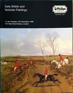 Phillips Catalog EARLY BRITISH AND VICTORIAN PAINTINGS 12 1996 London Sale $17.11
