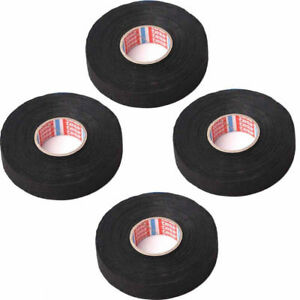 New 4X Adhesive Flannel Cloth Fabric Tape Cable Looms Wiring Harness 19mmx25m US