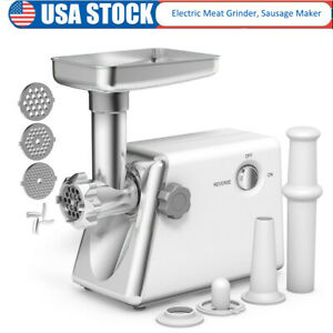 Electric Meat Grinder Sausage Maker Family Kitchen Food Machine Industrial Use