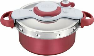 T-fal Pressure cooker Clipso Minut Duo Red 5.2 L IH compatible P4605136 JAPAN
