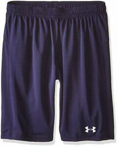 Under Armour Boys Youth Golazo Soccer Shorts, Navy Blue 1260597 410 Large or XL $18.99