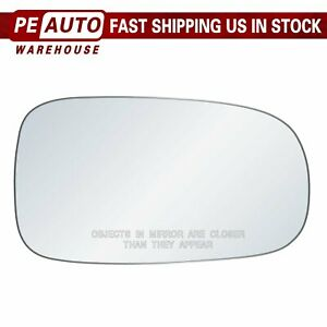 Mirror Glass Full Adhesive For 03-11 SAAB 9-3 9-3x 93 9-5 Right Passenger Side