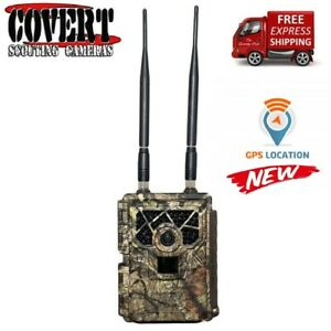 Covert Code Black LTE 5472 20 MP IR HD AT&T Certified Wireless Trail Camera 2019