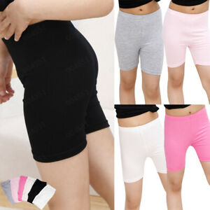 6 Pack Women Slim Pants Elastic Safety Dress Under Shorts Pants Leggings Render $12.67