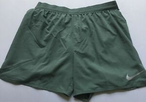 "Nike Men's Flex Stride 5"" Lined Running Shorts AT4000 Green 365 Size L"