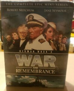 Brand New and sealed War and Remembrance Complete Epic Mini-Series Set. Rare OOP