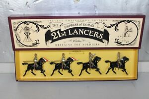Britains Lead Soldiers Empress of India's 21st Lancers Special Collector Edition