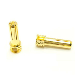 Team Trinity REVTECH Certified Adjustable Gold Plated 5mm Bullet Connector