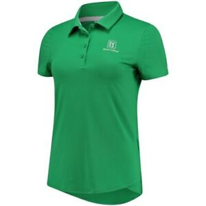 Under Armour TPC River's Bend Women's Green Leader Performance Polo