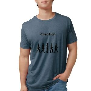 CafePress Creation Black T Shirt Mens Tri blend T Shirt 277966045