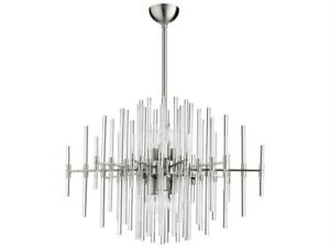 Mid Century Modern Entry 6 Light Pendant Chandelier Lighting