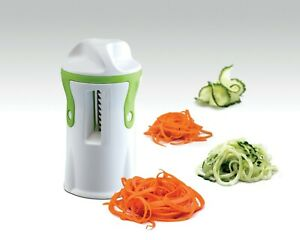 4-in-1 Vegetable spiralizer  handheld Strongest-and-Heaviest Duty.