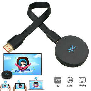 2.4GHz WiFi 1080P HDMI TV Stick AnyCast DLNA Wireless Micrasreen Airplay Dongle