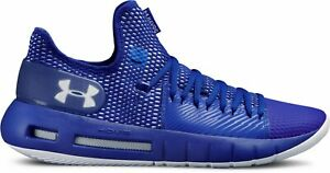 Under Armour Men's Hovr Havoc Low Basketball Shoes Sizes 6.5 thru 13 Royal White $49.95