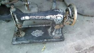 Antique Singer Sewing Machines Two vintage decorative machines REDUCED TO SELL $55.00