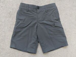 BOYS UNDER ARMOUR GOLF SHORTS, GRAY, SIZE 7 YOUTH $25.00