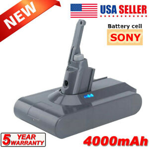 For Dyson V8 Absolute Animal Handheld Vacuum Cleaner 4.0 Ah Lithium Battery SV10