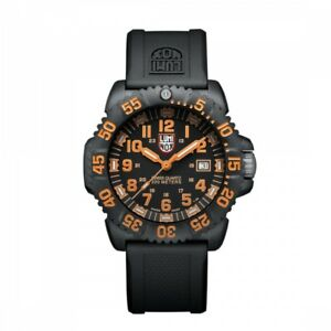 Luminox Men's Watch 3059 Navy Seal Colormark BlackOrange
