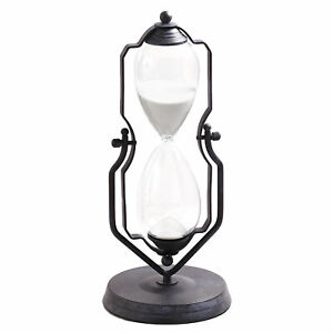 One Hour Decorative 14quot; Hourglass Swiveling Vintage Stand Style Device $24.98