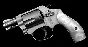 J Frame Grips fits many Smith & Wesson S&W Mother of Pearl Bright 38/357 ++
