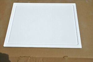 14 1 2 x 171 2 white solid surface cutting board juice groove hot plate slow