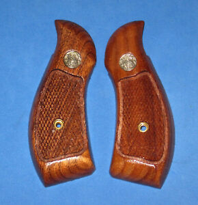Smith & Wesson K & L Frame Magna Style Grips, Round Butt - Used, VG - S&W