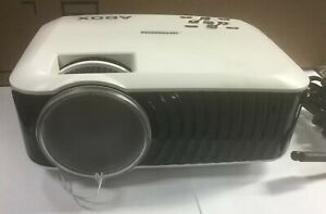 ABOX T22 60ANSI Lumens LCD Video Projector 1080P HDMI VGA TV SD Home Theater
