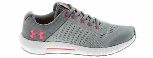 Under Armour GPS Pursuit Kids Size 1 Gray & Pink lightweight New MSRP $55 Laces