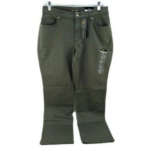 Women's Relaxed Fit Straight Leg Green
