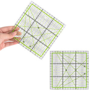 Square Quilting Template Patchwork Sewing Craft Ruler Stencil Acrylic $6.56