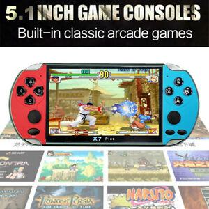 5.1 Inch TFT Screen Classic Game Console Handheld Portable Built-in 1000 Games