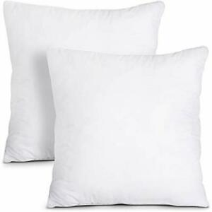 Decorative Pillows Throw Pillows Insert Pack of 2 Couch Pillows Utopia Bedding $15.78