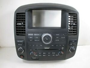 2012 Nissan Pathfinder BOSE 6 Disc CD Player Radio wAC Controls OEM 25915-9GA2D
