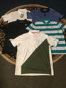 mens nike dri fit xxl golf shirts