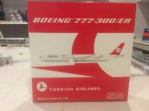 1:400 Phoenix Turkish Airlines Boeing B777 300ER TC JJB