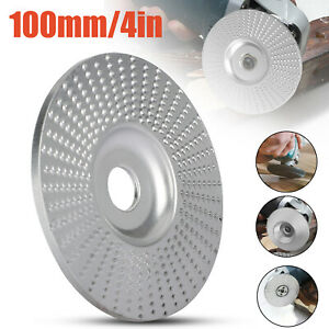 100mm Carbide Wood Sanding Carving Shaping Disc For Angle Grinder Grinding Wheel $11.98