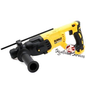 New DeWALT DCH133 DCH133B XR 20V MAX Brushless 1quot; Rotary D Handle Hammer Drill