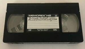 1993 TNT Smurfs Christmas Musical At Disney World Commercials SOLD AS BLANK VHS