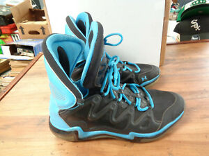 Under Armour CHARGE BB Men's Basketball Shoes Size 11.5 BlackLight Blue (sa)