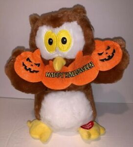American greetings Ollie The Owl Happy Halloween Sing and Dance Plush Decor 11