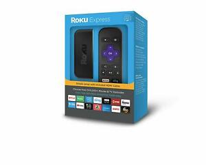 Roku Express 3900R Streaming Player - Black - SHIPS Sept 23