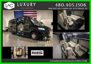 2020 Mercedes-Benz Sprinter 170EXT Midwest Automotive Design LUXE Cruiser 2020 Midwest Automotive Design LUXE Daycruiser Sprinter 3500XD Blk/Tan