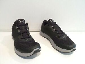 Under Armour Micro G Fuel Boy's Shoes Size 6Y Black Gray 6 GS Kids 1285438-001