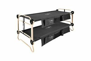 Disc-O-Bed XL Black with Organizers
