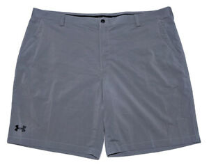 Under Armour Performance Golf Shorts Gray Size 46 Waist ~ Perfect!